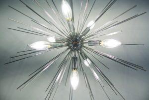 Nancy Lin's home office lighting