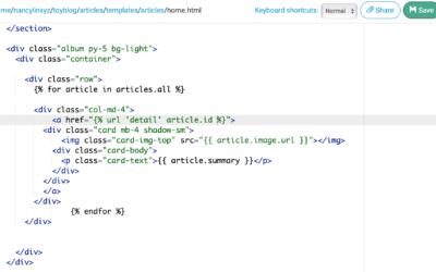 My First Web App (Backend Web Development)